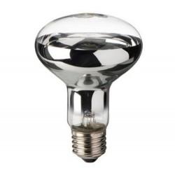 Lampadina spot reflector R80 42W alogena chiara